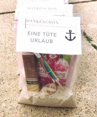 """""""Eine Tüte Urlaub"""", die Spendenaktion der CORPUS SIREO-Gruppe, Sommerfest 2017"""